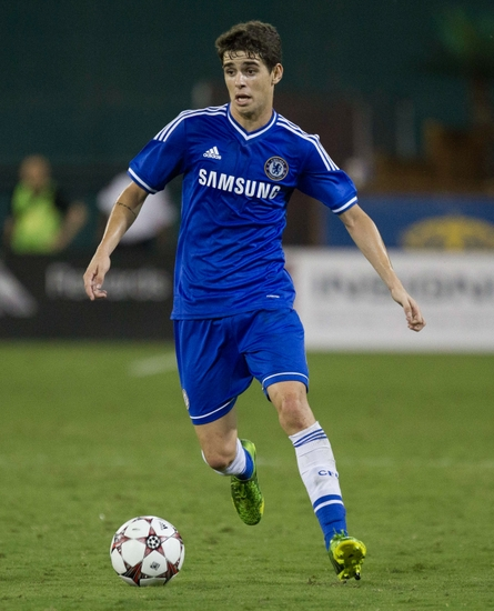 Oscar Chelsea: Eight Chelsea FC Players In Four Four Two's Top 100