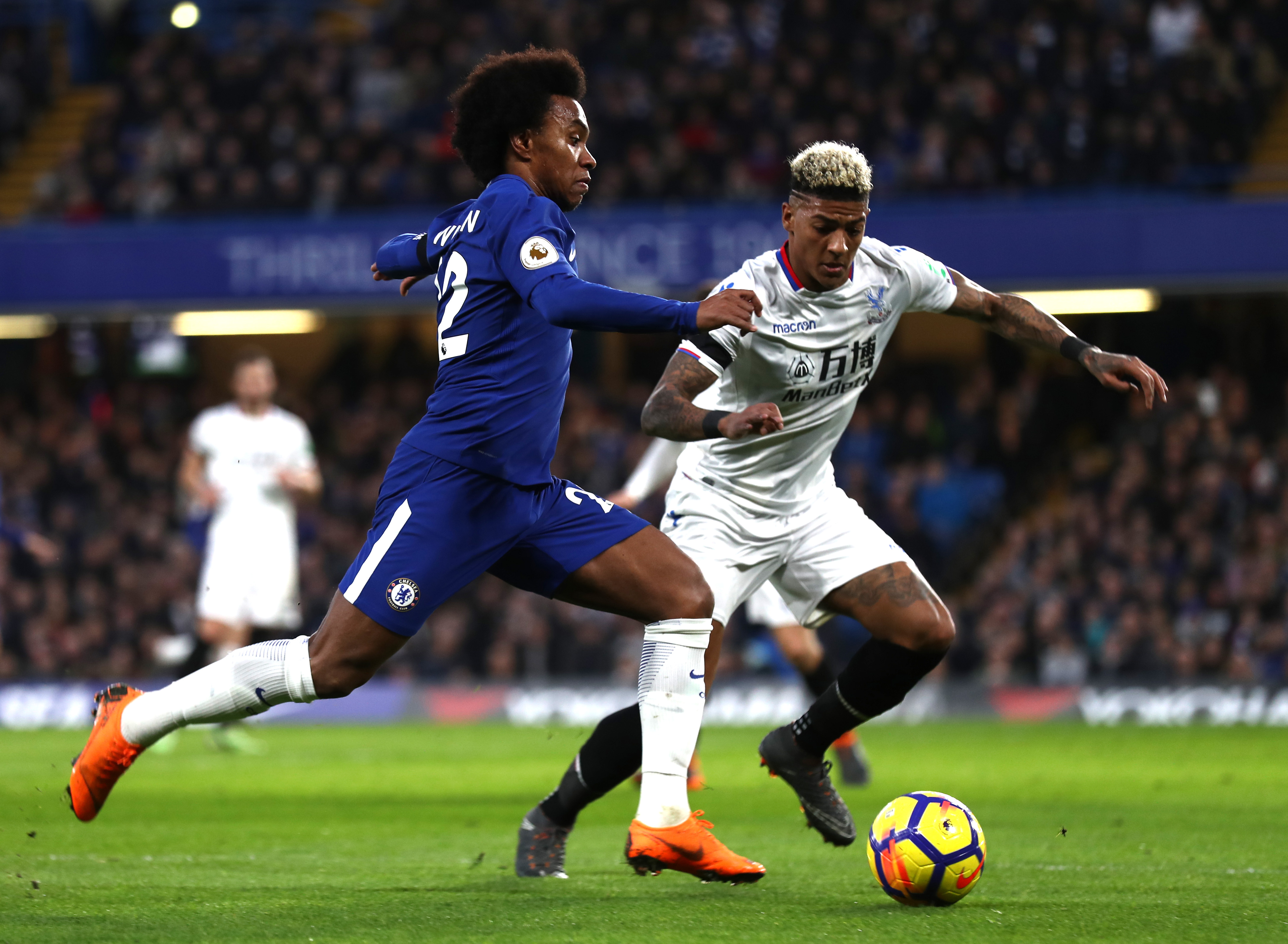 Image result for willian vs crystal palace